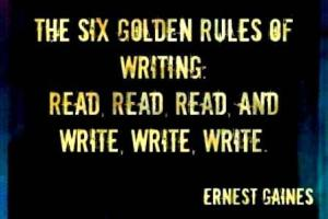 The Six Golden Rules of Writing