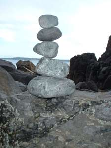 Having balance is the wisest choice and always leads you in the right direction. One step at a time.