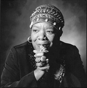 Maya Angelou by Spanglej, CC BY-SA 2.0.